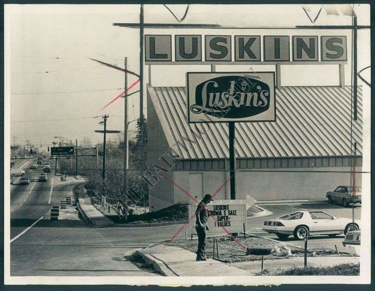 Old Luskins Appliance Store 1983 Reisterstown Rd