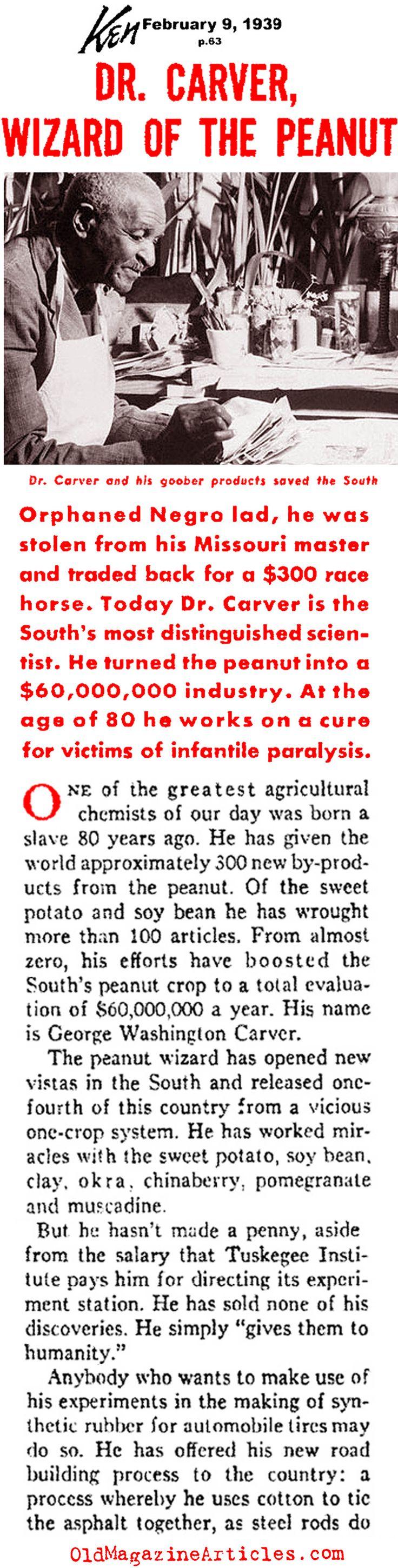 16 Best George Washington Carver Images On Pinterest George