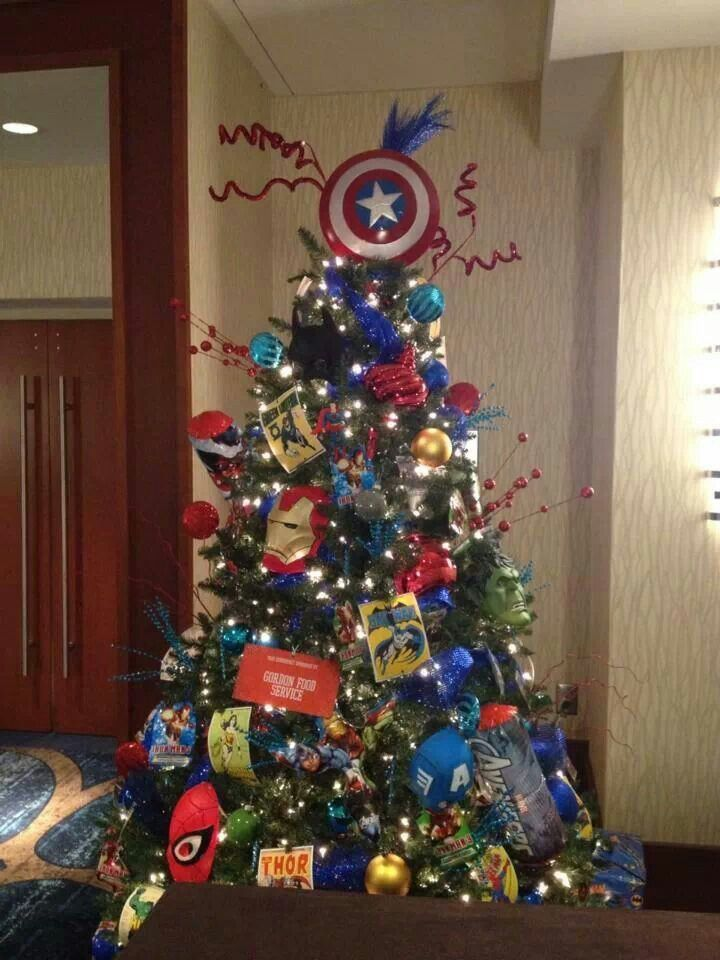 18 best Superhero Christmas Tree images on Pinterest | Christmas ...