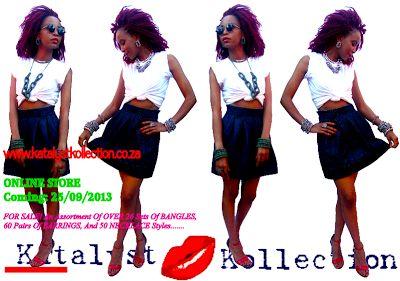 @Katlego Moripe wearing #KatalystKollection #SIGNATURELOOK #white tee #blue jeans #red shoes #ROCKSTAR in #Green #shweshwe #AfricanPrint #ACCESSORIES