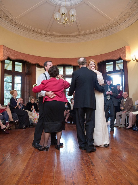 We danced in the grand old ballroom at Tomago House