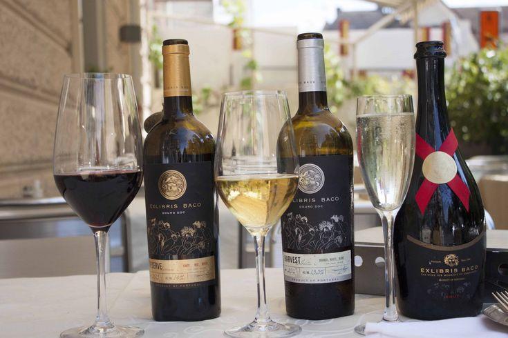Portugiesischer Wein aus dem Duoro: Rotwein, Weisswein und Cava. Unglaublich lecker und ein super schönes Cover, Etikette.