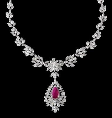 Tanishq diamond jewellery.