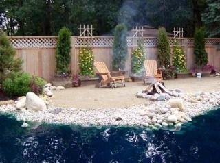 Beach Backyard Ideas i like this idea ez to maintain beach backyard ideas Find This Pin And More On Beach Backyard