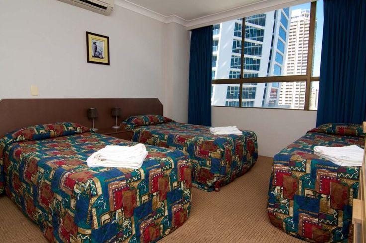 Promenade Apartments - Premium 2nd Bedroom - Surfers Paradise Family Accommodation