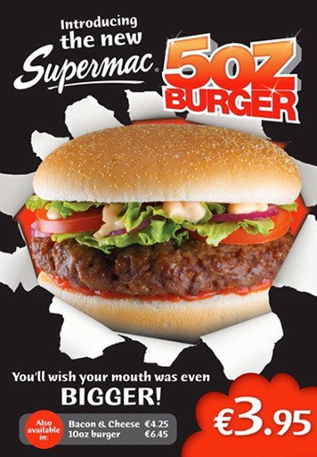 Supermacs Burger © David Cantwell Photography