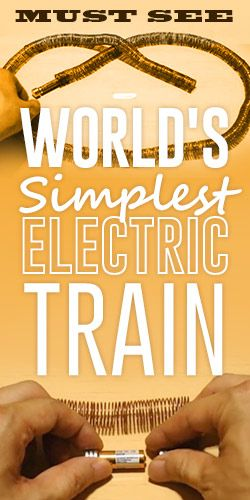 Must See: World's Simplest Electric Train