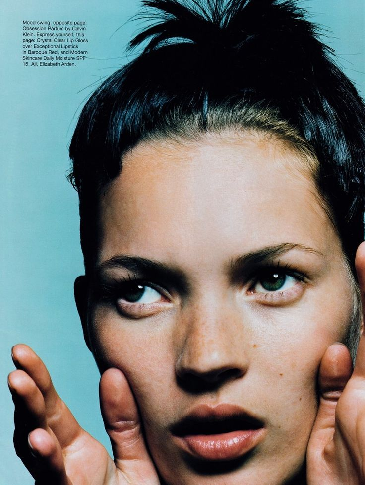US Harper's Bazaar July 1997 Playing with Kate Ph: David Sims Model: Kate Moss