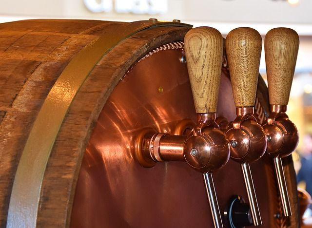 Wooden Barrel, #Copper Taps- There's a certain imbued quality to a great beverage aged in a wooden barrel sealed with copper taps. It delivers a matchless flavor that surpasses that of beverages aged in #steel barrels. Though the wood used is usually oak, other types of wood can be used.