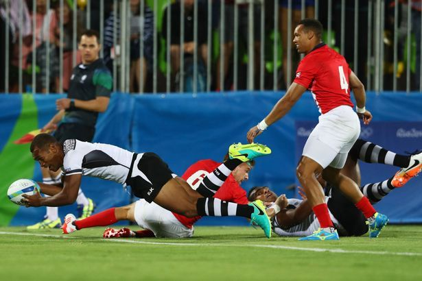 Great Britain 7-43 Fiji: Team GB's sevens gold medal hopes crushed ...