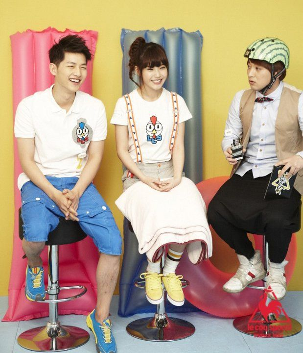 """ Joong Ki for le coq sportif feat. IU [19] """