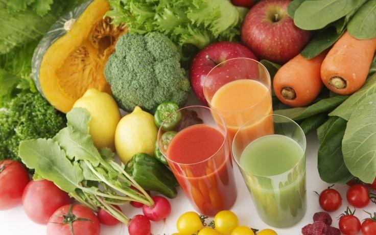 Frullato di Verdure fatto in casa fonte di minerali e vitamine