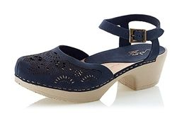 Calou Ninni Blue Clogs, perfect for Summer.  Now in sale at Northlight Homestore