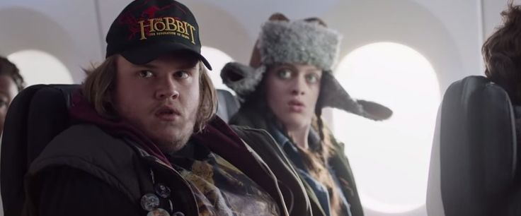 I love that airlines have started with cinematics! As the official airline of Middle-earth, Air New Zealand has gone all out to celebrate the third and final film in The Hobbit Trilogy - The Hobbit...