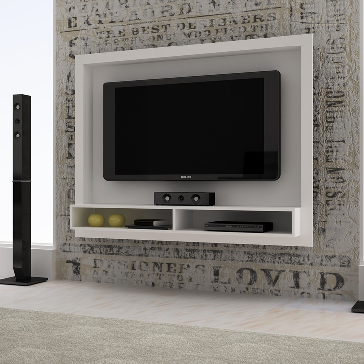 Painel para TV BR-420 - BRV - Painéis Para Parede - Sala de Estar