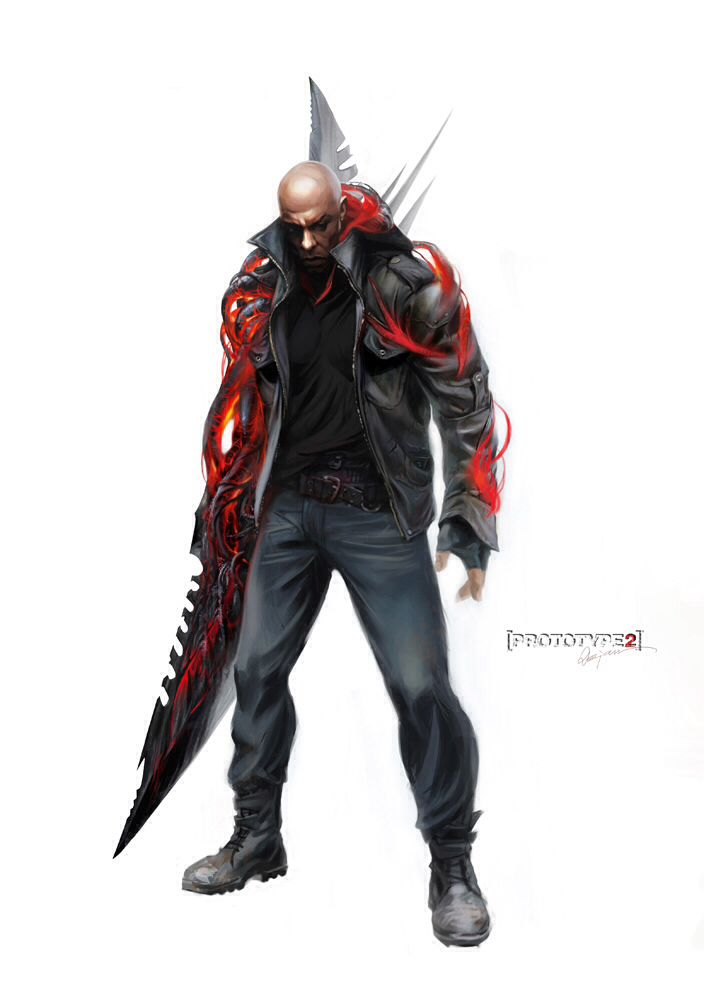 Prototype 2- James Heller | Video Game | Pinterest ...