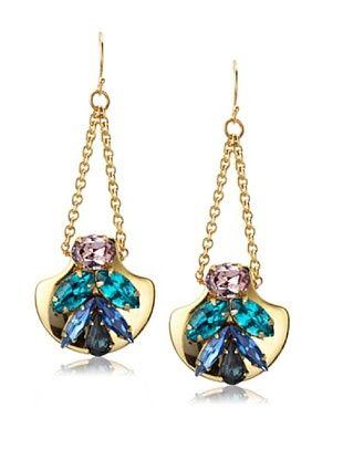 60% OFF Sandy Hyun Crystal Earrings