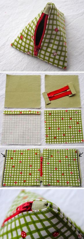 Pyramid Bag Sew Tutorial   http://www.free-tutorial.net/2016/12/pyramid-bag-tutorial.html