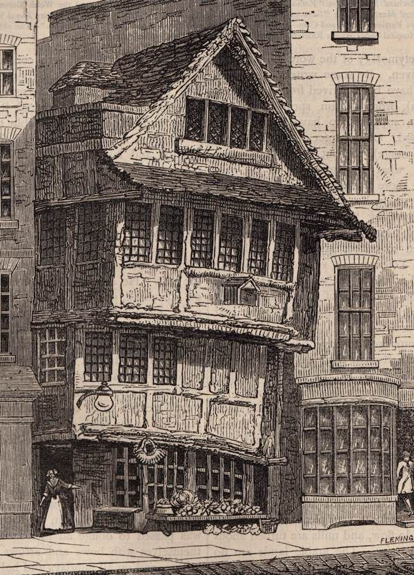 Old London - The Old Fountain, Minories