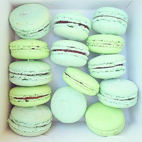 Get me those right now...pastel macaroons.  | inspiration | beautiful | pastel shades | gorgeous | blush | mint | pastel