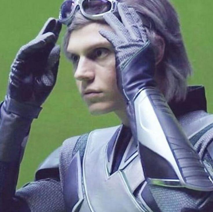 | Evan Peters as Quicksilver - X-men : Apocalypse | | Evan ...