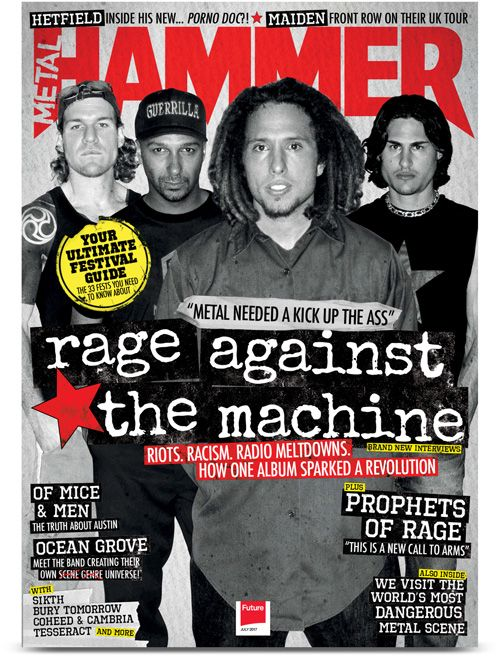 Check out the Latest Issue of Metal Hammer Magazine by subscribing to My Favourite Magazines: