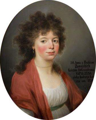 Anna Jadwiga Sapieha, née Zamoyska (1772-1859)