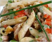 Dreamfields Pasta's Penne and Smoked Salmon Pasta Salad
