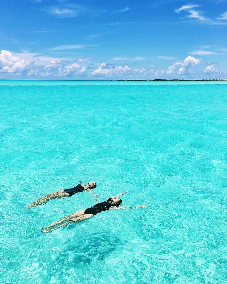 Nicole Warne and Lily Kwong, Bakers Bay, Grand Guana Cay, Bahamas
