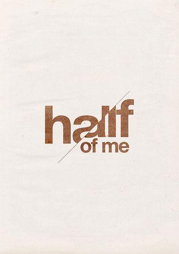 half of me by felkx
