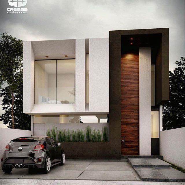 Sensacional cuadrada y minimalista propuesta casas para for Casa minimalista fraccionamiento