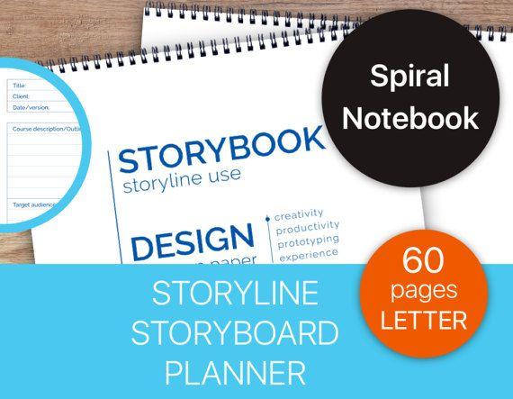 Storyline notebook.