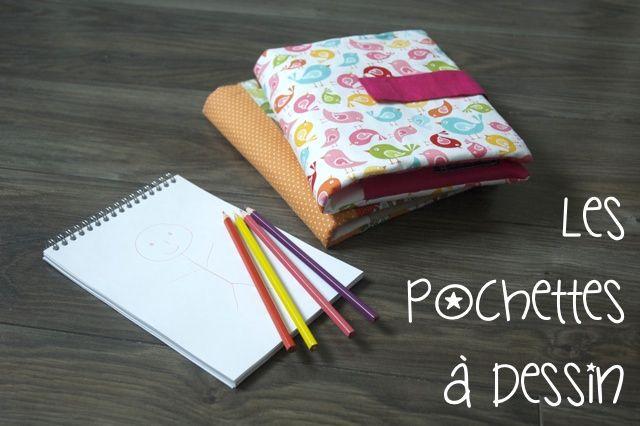 Pochettes dessin entete cadeaux de no l 3 des pochettes - Dessin couture ...