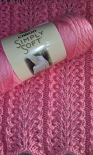 Ravelry: Project Gallery for Elegantly Simple Baby Blanket pattern by Jackie Erickson-Schweitzer: