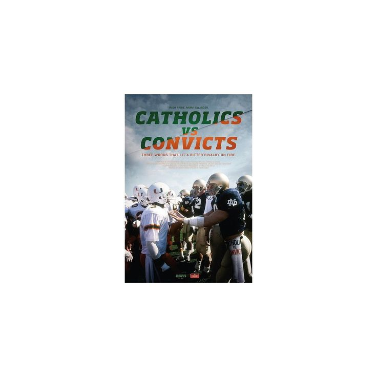 Espn Films 30 for 30: Catholics Vs Convicts (Dvd)