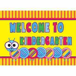 Image result for welcome to kindergarten bright colors