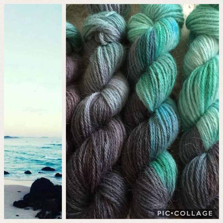 Custom made yarn kit   hand dyed yarn   made especially for my friend Monica of Norway   SW wool