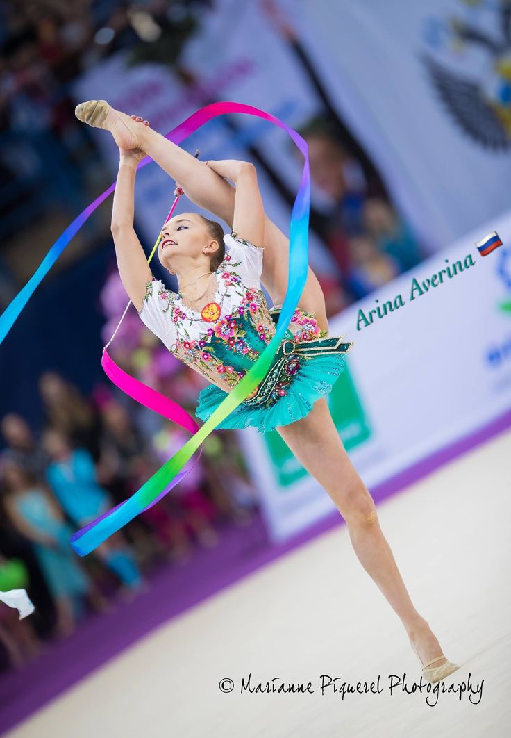 Arina AVERINA (Russia) ~ Ribbon @ GP Moscow 2017 Photographer Marianne Piquerel.