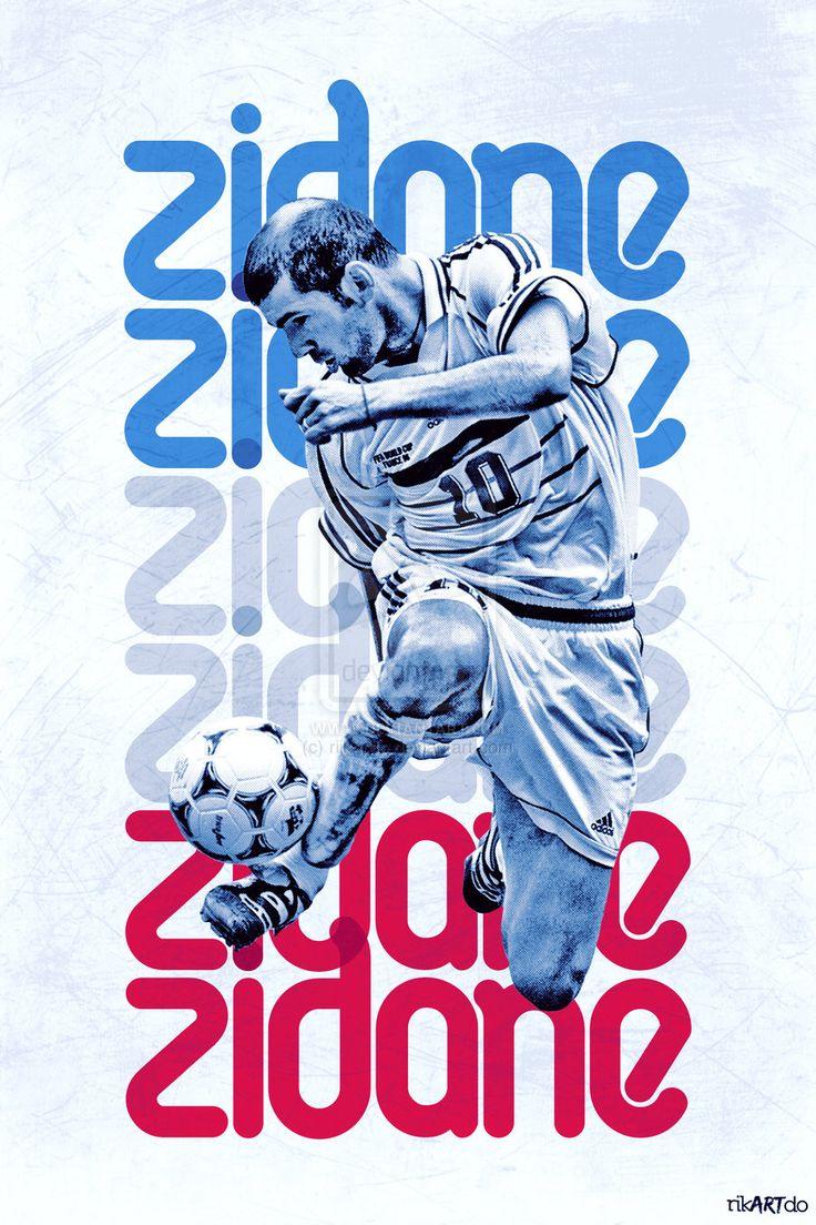 Poster design deviantart - Zidane Poster By Riikardo Deviantart Com On Deviantart