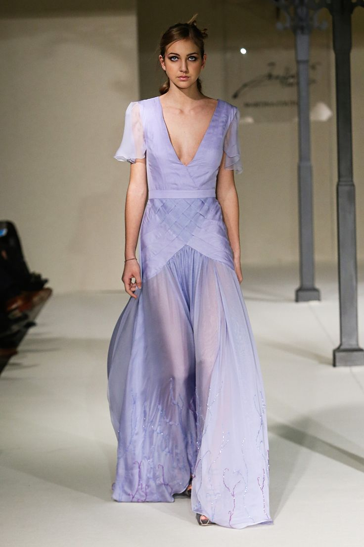 Violet Gown – Martina Couture – Imago Veli Collection SS 2016