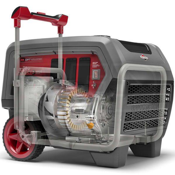 Briggs Stratton 30675 Q6500 5000 Watt Quietpowera Series Portable Inverter Generator 49 State In 2020 Inverter Generator Generator House Portable Generator