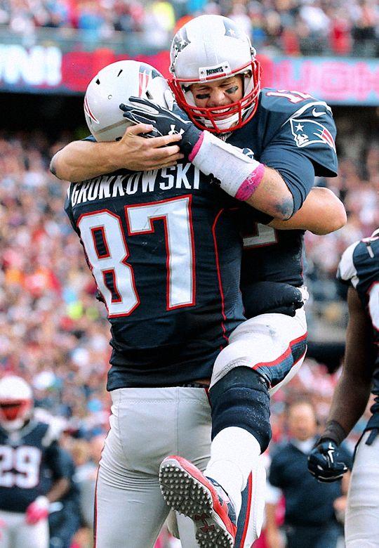 Gronk love Brady