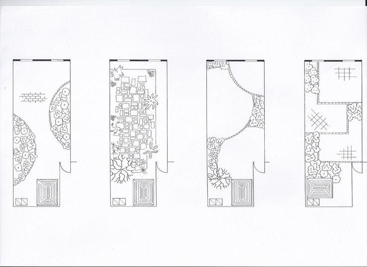 Plans for a medium sized garden showing overall view and detailed planting plan to larger scale. Design for a mixed border with shrubs, a…
