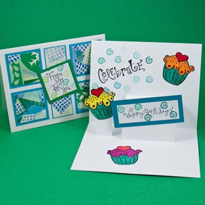 25 einzigartige geburtstagskarte selber basteln pop up ideen auf pinterest pop up karten - Geburtstagskarte basteln pop up ...