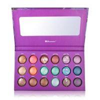 1 PC/Lot maquillaje cosméticos BH Chic Galaxy 18 Color de Baked Eyeshadow Palette envío gratis