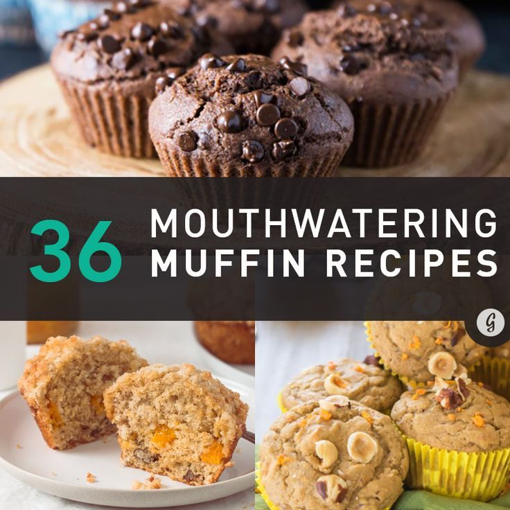 Healthy Mouthwatering Muffin Recipes — You won't be able to resist these delicious (but still healthy!) muffin recipes. #healthy #muffin #recipes #greatist
