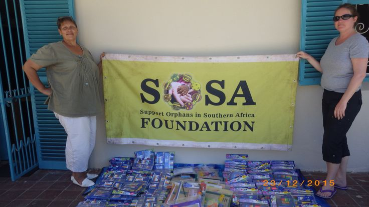 Cape Town here we are...  Christmas stationery shopping for the 150 children happened today smile emoticon The SOSA Support Team are staying with Kim Highfield this week who is from the @outofafricachildrensfoundation  We visited two stores as it is not easy purchasing 150 stationery sets from one store.  More updates will be made after the Christmas lunch.