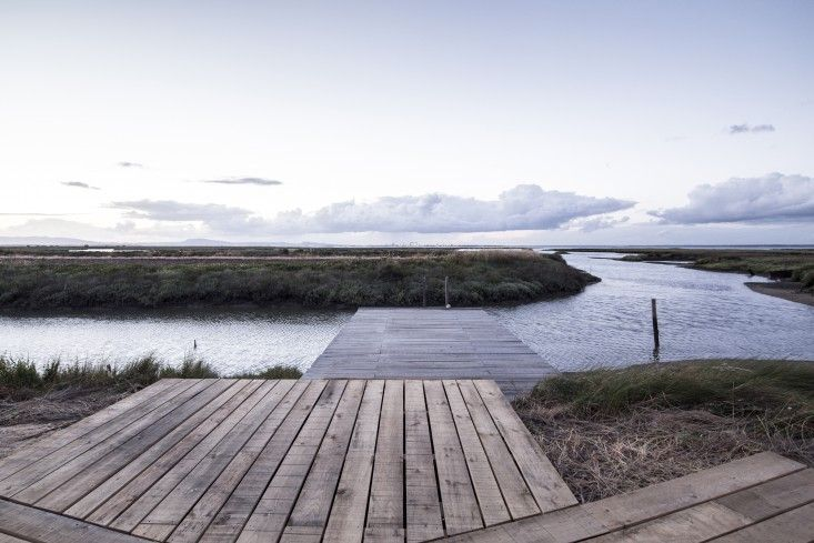 The Jetty at Cabanas Rio. Comporta Portugal | Remodelista