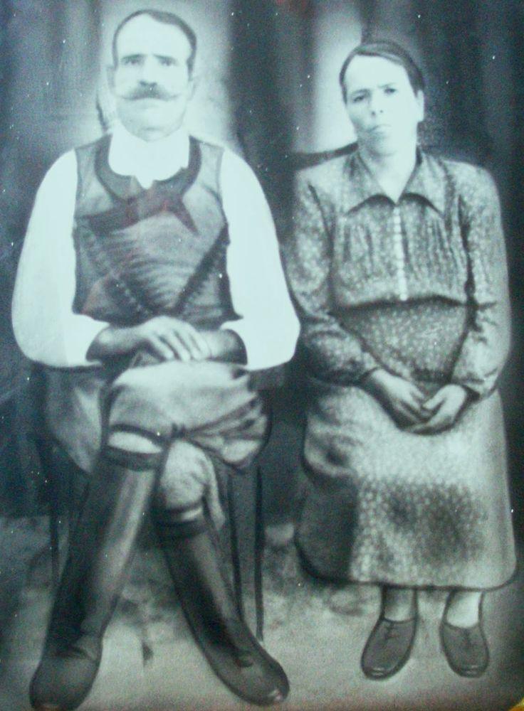 MOXOΣ ..Ο Χαρίλαος Αρχοντάκης....με την γυναίκα 'ντου