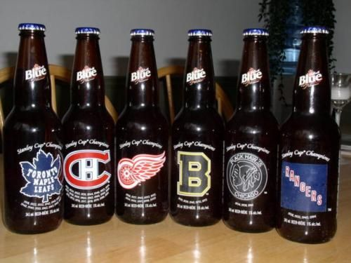 Original Six beer...i must locate these!!!
